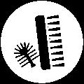 Icon Spezialbürsten (türkis): Individuelle Lösungen